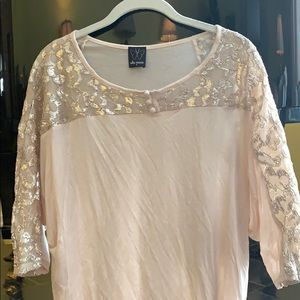 Ella Moss spring top with detailing